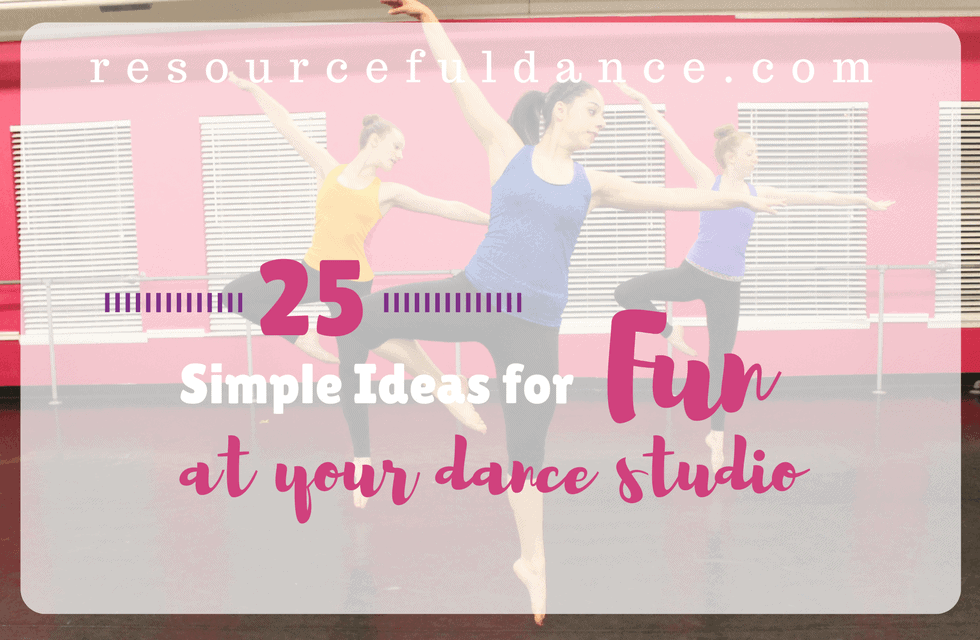 Finding Room for Fun at Your Dance Studio