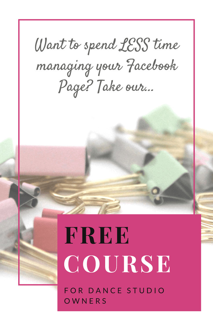 Dance Studio Owner should take advantage of this FREE Facebook Guide! Totally great, LOVE!