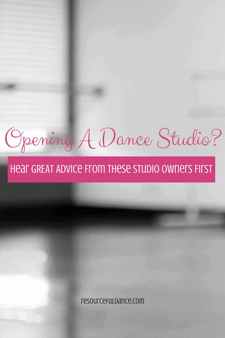 Dance studio owners give future studio owners great advice!