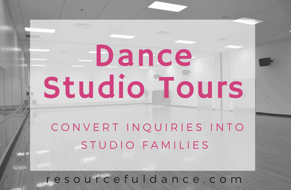 dance studio tours