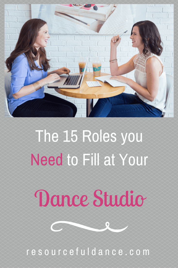Roles you Need to Fill at Your Dance Studio
