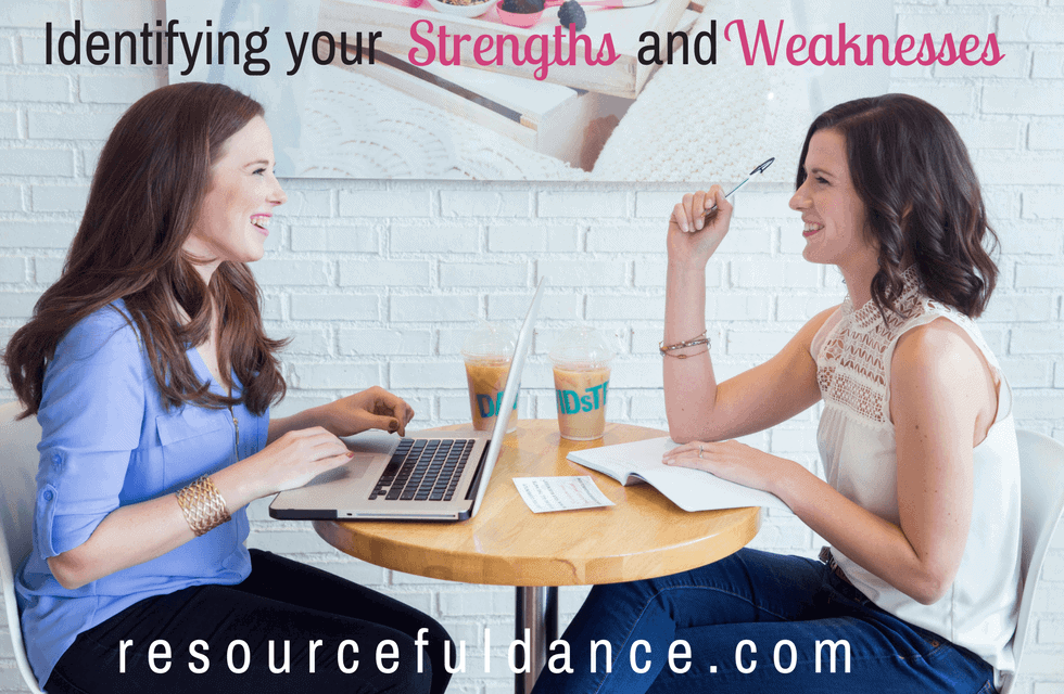 Strengths and weaknesses as a dance studio owner