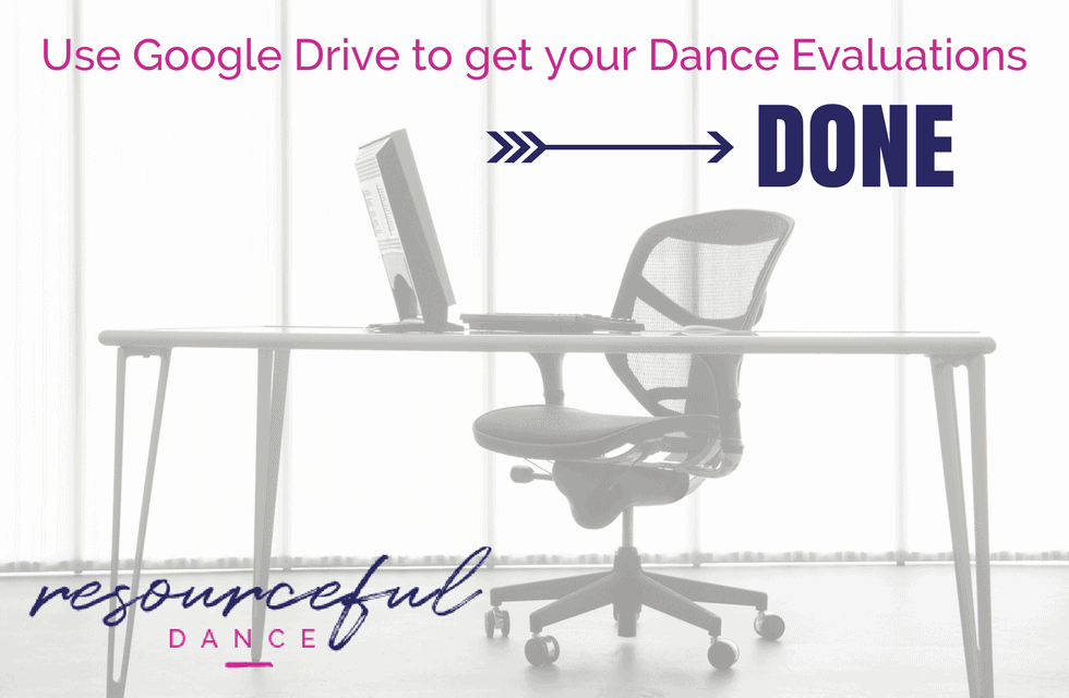 Use Google Drive at your dance studio